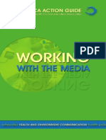 Working With Media - A Guide for NGOs