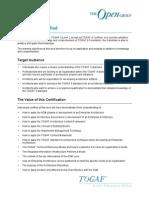 Togaf9 Certification overview