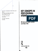 Key Concepts in Post-colonial Studies