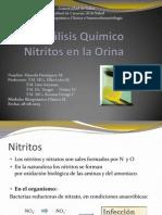 Analisis de Orina Nitritos