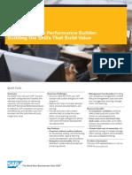 SAP Workforce Performance Builder Building the Skills That Build Value