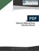 Walchem Pump EW-Y Series Manual