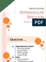 Appendicular Report