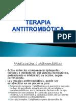 Terapia antitrombótica