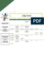 PWC Calendar 200907