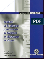 Informe de Recaida de Drogas