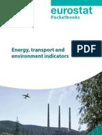 Eurostat Energy Transport and Environmental Indicators Ks Dk 08 001 En