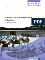 Eurostat Principals Economic Indicators Ks 81-08-398 En