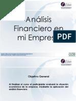 Anàlisis financiero en mi empresa