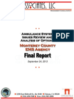 Monterey County EMS Final Report