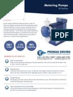 Walchem Pump IX Series Brochure, IXC060, IXC150