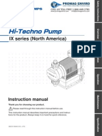 Walchem Pump IX Series Manual, IXC060, IXC150