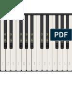 teclado imprimible