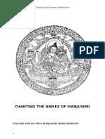 Manjusri Nama Samghiti