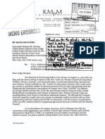 8-26-2013 Case 1-90-cv-05722-RMB-THK Document 1371 ENDORSED LETTER addressed to Judge Richard M. Berman from Raymond G. McGuire dated 8/22/13