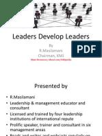 Leaders Develop Leaders