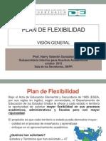 PP Visión general- Plan de Flexibilidad Divulgacion
