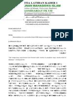 Proposal LK 2013