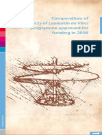 compendiumofprojectsofleonardodavinciprogrammeapprovedforfundingin2008-090728061151-phpapp01