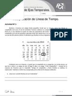 FICHA 11, INTERPRETACIÓN DE LÍNEAS DE TIEMPO