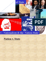 Intro Political Science Lecture Slides Nationalism & the Modern Nation State