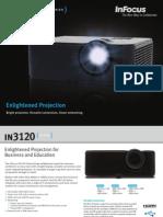 InFocus IN3120 Series Datasheet en 7