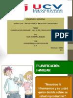 Planificacion Familiar - Cahydene