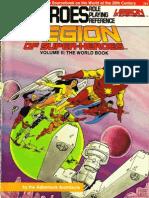 DC Heroes Legion of Super-Heroes Volume II - The World Book
