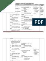 Yearly Scheme of Work Year 3 2013