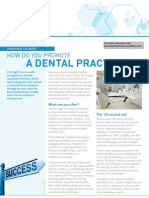 How Do You Promote a Dental Practice