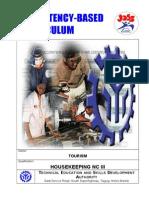 Housekeeping NC III