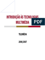 Telemedia2006_IntroducaoTecnologiasMultimedia