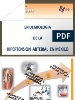 Panorama Epidemiologico de La Hipertension