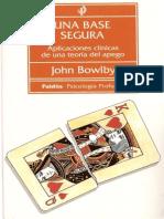 Apego, comunicación y proceso terapéutico Bowlby copy