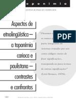 Revista Usp Aspectos de Etonolinguistica