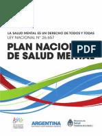 2013 10 08 Plan Nacional Salud Mental