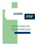ULTRASONIDO ECOGRAFIA