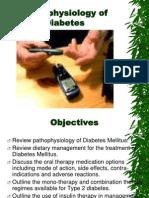 Pathophysiology of Diabetes