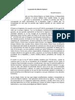 La Pensión de Alberto Fujimori por RGH Oct2013