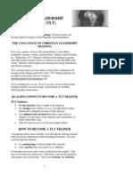 07 Timothy Leadership Training