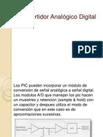 Convertidor Analógico Digital