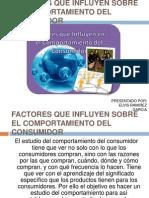 Factores Que Influyen Sobre El Comportamiento Del Consumidor