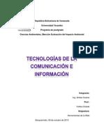Tecnologias de La Comunicacion e Informacion