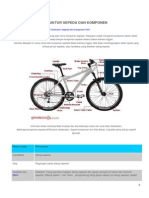 Cara Merakit Sepeda Gunung