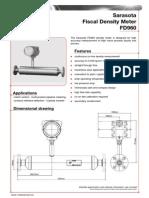 FD960 Density Meter