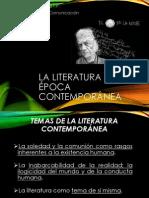 LA LITERATURA EN LA �POCA CONTEMPOR�NEA.pptx
