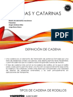 Cadenas y Catarinas