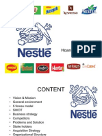 Nestle Business Presentation