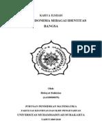 Karya Tulis Bahasa Indonesia Sebagai Identitas Bangsa