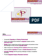 Campus Placement Preparation - Discover CorporatePass